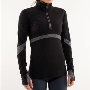 Lululemon Run: Distance Pullover size 4